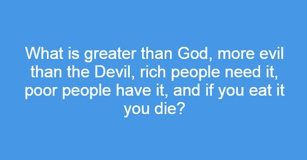 Solve This Riddle With God And Devil Spicy Quiz